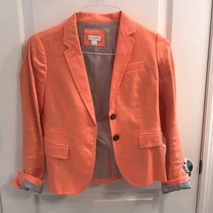 J. Crew Light Peach Blazer Size 0